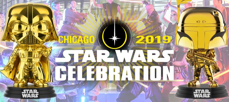 Star Wars Celebration: Pop! Shared Exclusives!