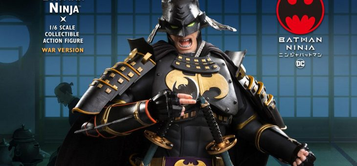 Batman Ninja Movie Action Figure 1/6 Normal and Deluxe Versions 30cm