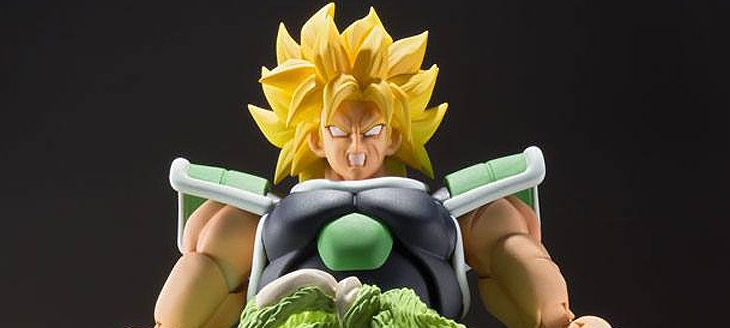 Dragonball Super Broly S.H. Figuarts Action Figure Broly 19cm