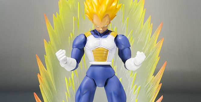 Dragonball Super Saiyan Vegeta Premium Colour