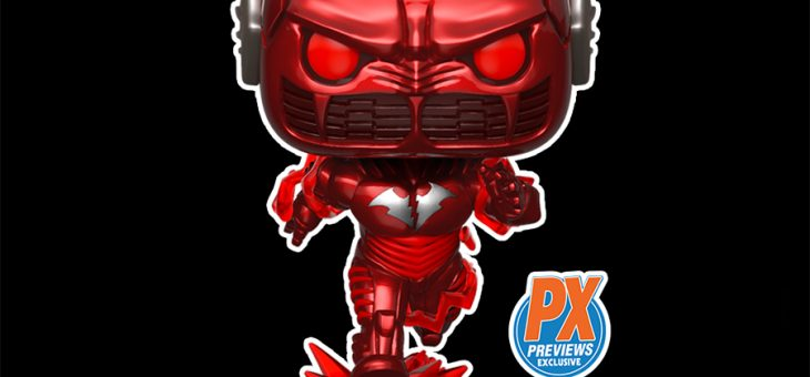 Funko PREVIEWS Exclusive Batman Red Death Pop!