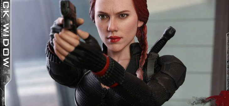 Avengers: Endgame Movie Masterpiece Action Figure 1/6 Black Widow 28cm