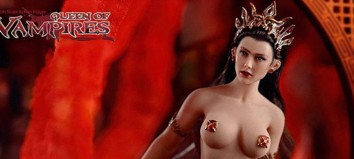 Queen of Vampires Action Figure 1/12 Arkhalla 15 cm