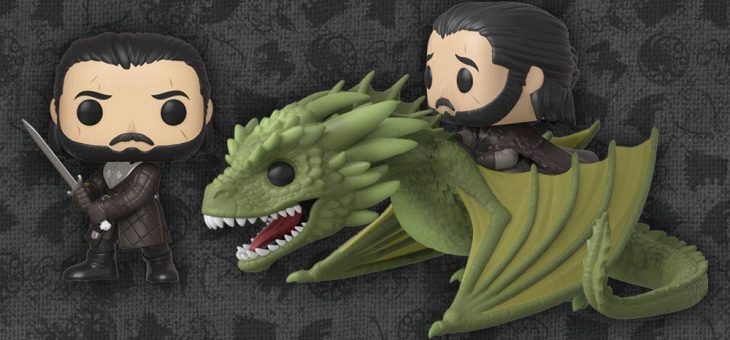 Funko Pop! TV: Game of Thrones Pop! Rides: Jon Snow with Rhaegal