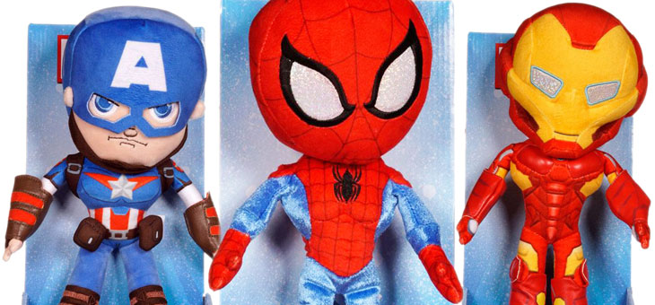 Marvel Comics Plush Figures 25 cm