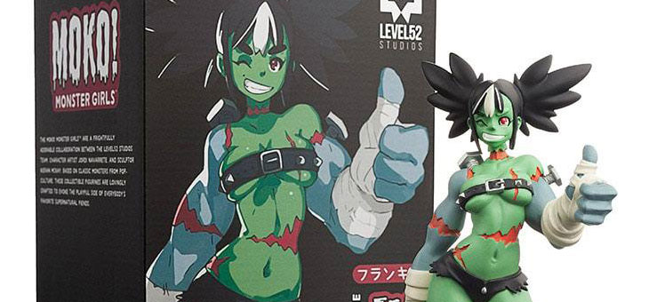 MOKO Monster Girls Statue Frankie 21 cm