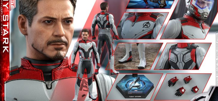 Hot Toys Avengers: End Game Tony Stark Team Suit Sixth Scale Figure