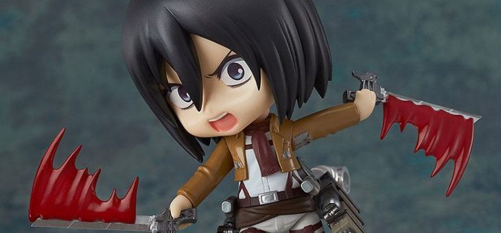 Attack on Titan Nendoroid Action Figures 10 cm