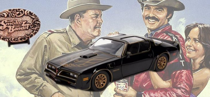 1:24 Smokey and the Bandit Firebird and Bandit Belt Buckle