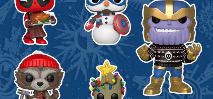 Funko: Marvel Holiday Pop! Vinyl, (yes already)…