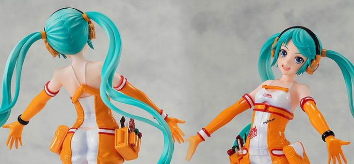 Hatsune Miku GT Project Pop Up Parade PVC Statue Racing Miku 2010 Ver. 17 cm