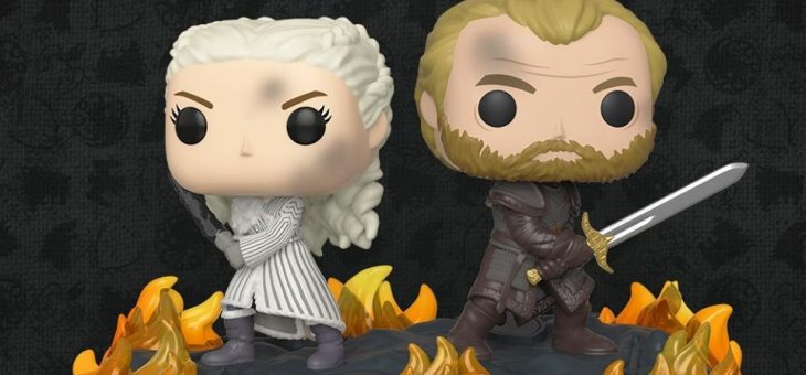 Funko: Game of Thrones Moment Daenerys and Jorah with swords & Queen of the North Sansa Pop!