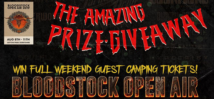 The Amazing Prize Giveaway with Overdrive, Bloodstock Open Air and Forbidden Planet International