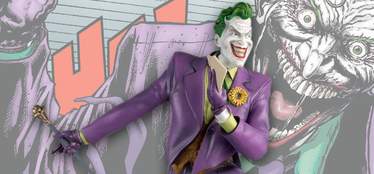 DC Super Hero Collection MEGA Statue The Joker Special 35 cm