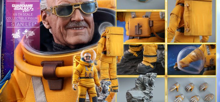 Hot Toys  Guardians of The Galaxy Vol. 2 Stan Lee Sixth Scale Figure