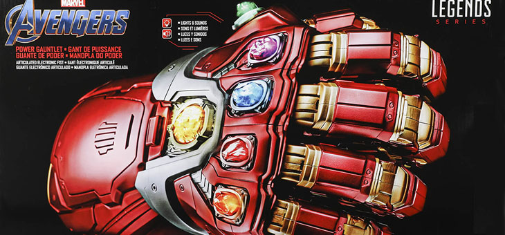 Marvels Avengers Legends Power Gauntlet arriving in stores now!