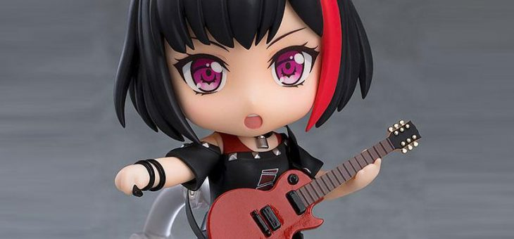 BanG Dream! Girls Band Party! Nendoroid Action Figure Ran Mitake Stage Outfit Ver. 10 cm