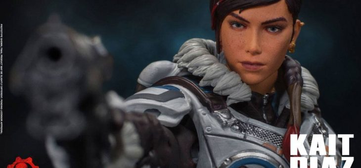 Gears of War 5 Action Figure 1/12 Kait Diaz Arctic Armor 18 cm