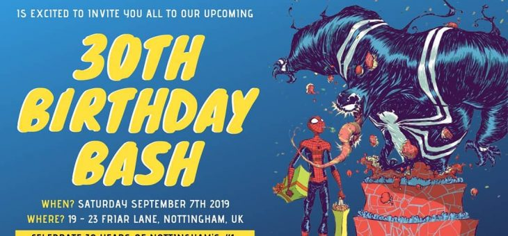Forbidden Planet Nottingham 30th Birthday Bash!