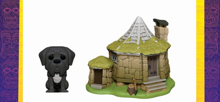Funko: Pop! Town—Harry Potter—Hagrid's Hut with Fang