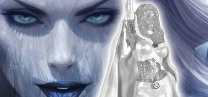 Marvel Comic Gallery PVC Statue White Queen Emma Frost Exclusive 23 cm