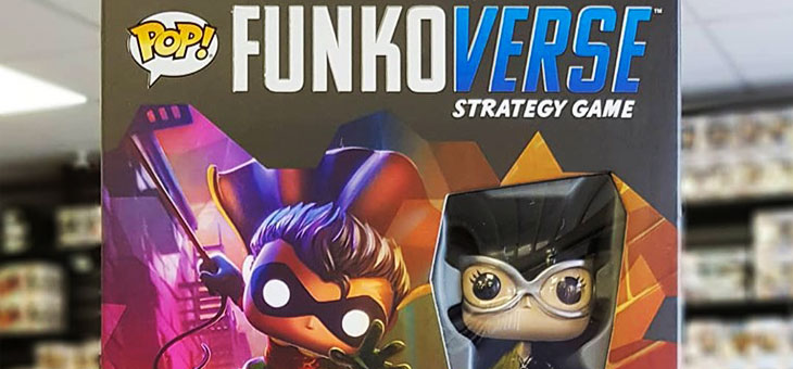 Funkoverse DC Strategy Game