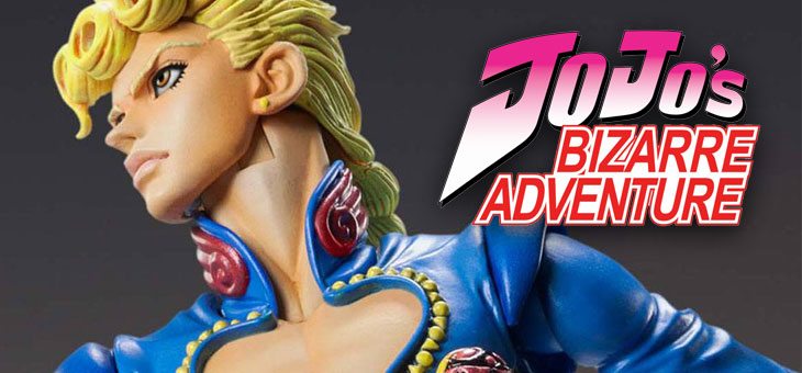 JoJo's Bizarre Adventure Super Action Action Figure Giorno Giovanna 2nd 16 cm