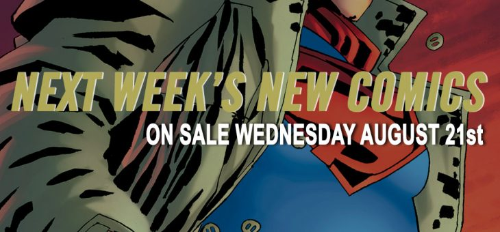 New Comics For Wed 21st August 2019