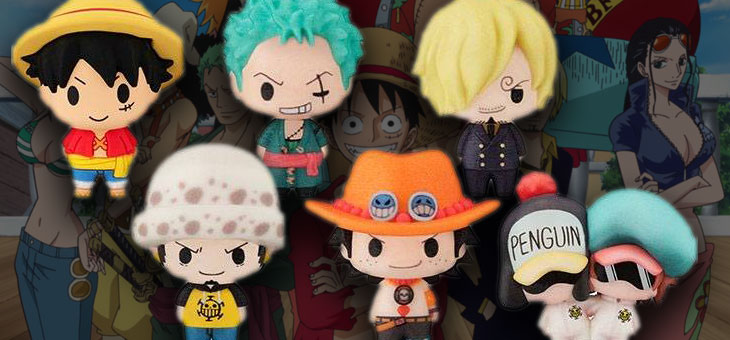 One Piece Chokorin Mascot Series Trading Figure 5 cm Assortment (6)