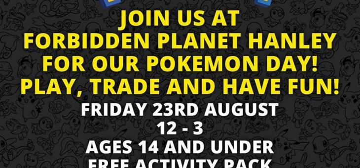 Pokemon Trade and Play day Stoke-On-Trent (Hanley)