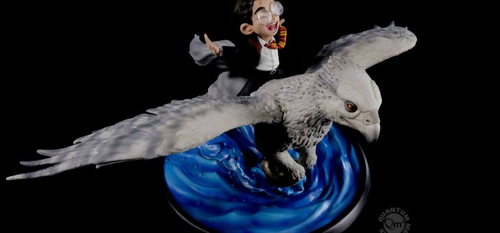 Harry Potter Q-Fig MAX Diorama Harry & Buckbeak 13 cm