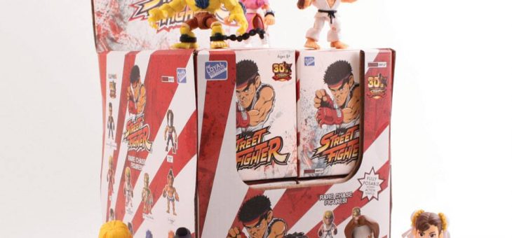 Street Fighter Action Vinyl Mini Figures 8 cm WM Display (12)
