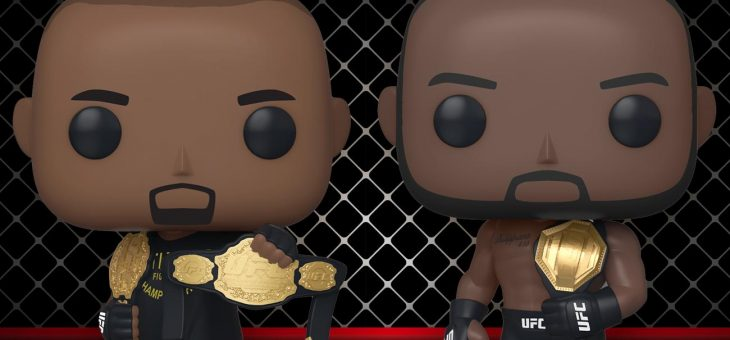 Funko: Pop! UFC! Daniel Cormier & Jon Jones