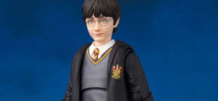 Harry Potter and the Philosopher's Stone S.H. Figuarts Action Figures Harry, Hermione and Ron