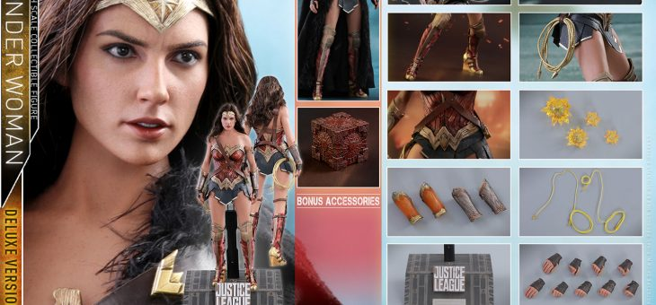 Hot Toys Justice League – Movie Masterpiece Series Wonder Woman Deluxe