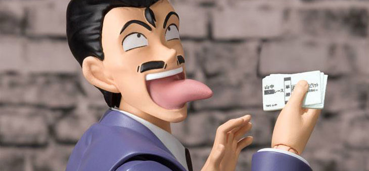 Case Closed S.H. Figuarts Action Figure Kogoro Mouri 16 cm