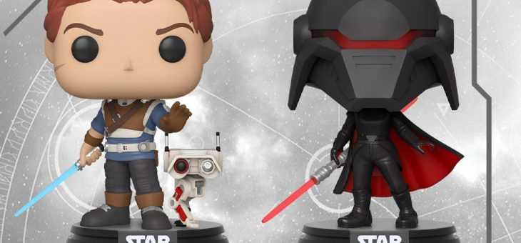 Funko: Pop! Games—Star Wars Jedi: Fallen Order!