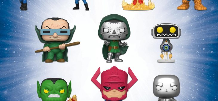 Funko: Fantastic Four—Mystery Minis and Pop!