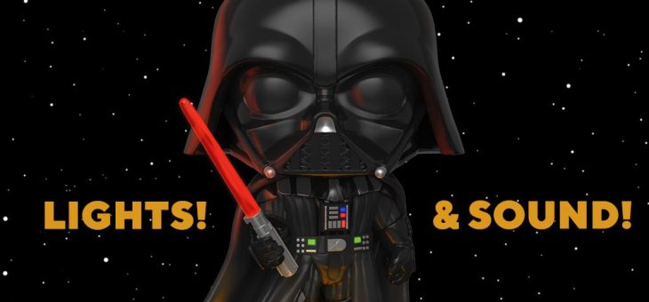 Funko: Pop! Star Wars: Electronic Darth Vader™!
