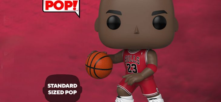 Funko: Coming Soon: Pop! NBA – 10″ Michael Jordan