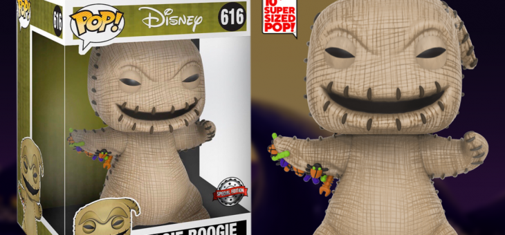 Funko: The Nightmare Before Christmas Pop! Vinyl 10″ Oogie Boogie Exclusive