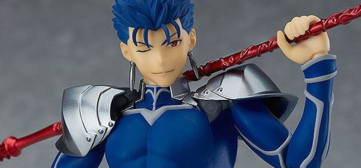 Fate/Grand Order Figma Action Figure Lancer/Cu Chulainn 16 cm