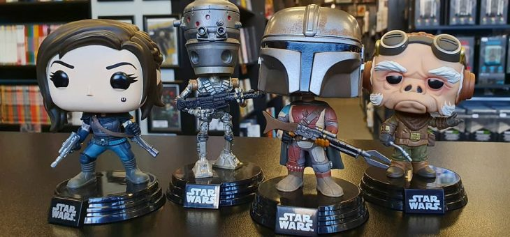Funko: Star Wars: TheMandalorian Pop! Vinyls Now available!