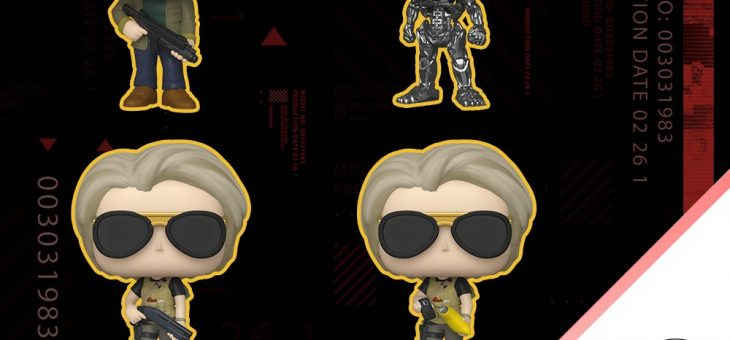 Funko: Pop! Movies—Terminator: Dark Fate!