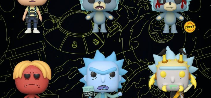 Funko: Pop! Animation—Rick and Morty!