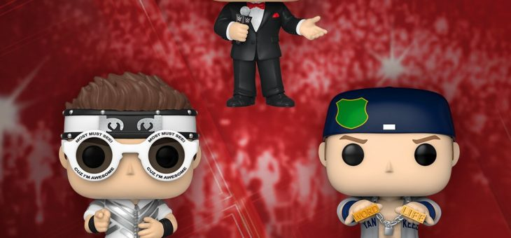 Funko: NEW Pop! WWE!