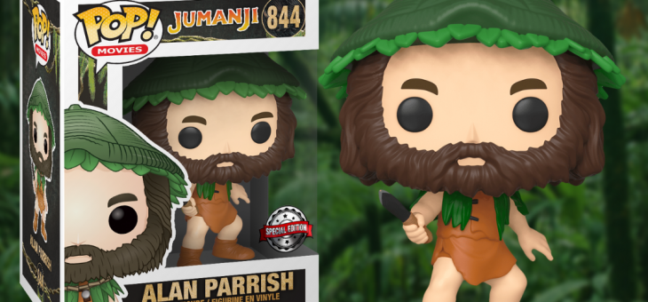 Funko: Pop! Jumanji Alan Parrish with Knife Forbidden Planet Exclusive!