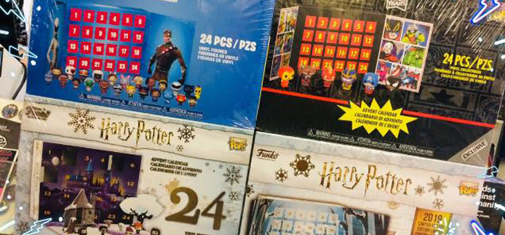 Advent Calendars now reduced in store!