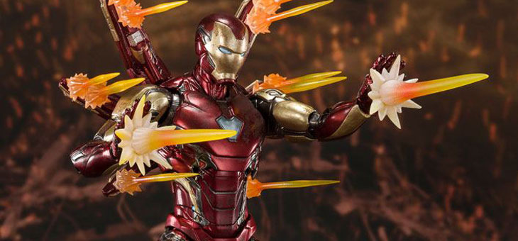 Avengers: Endgame S.H. Figuarts Action Figure Iron Man Mk 85 (Final Battle) 16 cm