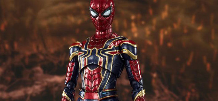 Avengers: Endgame S.H. Figuarts Action Figure Iron Spider (Final Battle) 15 cm